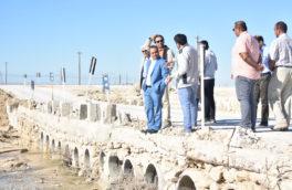 بازدید مدیرعامل منطقه ویژه اقتصادی پارسیان از مناطق سیل زده همجوار منطقه