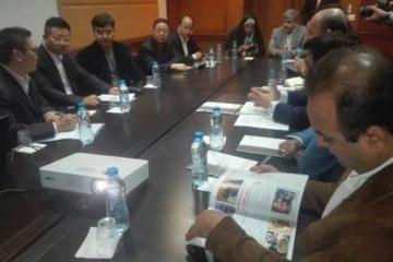نشست مدیرعامل منطقه ویژه اقتصادی پارسیان با سرمایه گذاران چینی در حوزه آلومینیوم