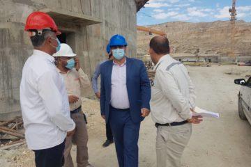 بازدید سر زده مدیر کار و خدمات اشتغال منطقه ویژه اقتصادی پارسیان از وضعیت رعایت پروتکل بهداشتی در کارگاههای منطقه