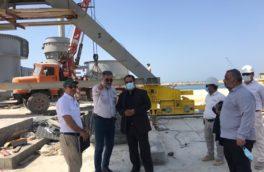 بندر پارسیان یکی از مهم ترین پروژه های سازمان توسعه و نوسازی صنایع و معادن ایران است