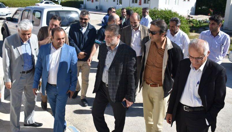 دیدار مدیرعامل منطقه ویژه اقتصادی پارسیان با مدیرعامل هلدینگ دریایی قرارگاه خاتم الانبیاء