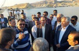 بازدید قائم مقام و مشاور ارشد اجرایی ایمیدرو از منطقه ویژه اقتصادی پارسیان