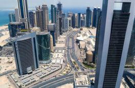 خیابانهای قطر آبی میشوند