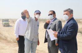 بازدید دکتر علامه،مدیرعامل منطقه ویژه اقتصادی پارسیان از روند پیشرفت پروژه های این منطقه