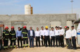 گزارش تصویری برگزاری مانور پدافند غیرعامل در منطقه ویژه اقتصادی صنایع انرژی بر پارسیان